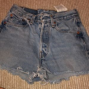 Light Denim jean shorts